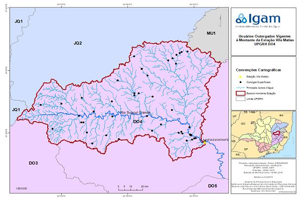 Restrição de captação de água na bacia hidrográfica do rio Suaçuí segue até 31 de outubro de 2019