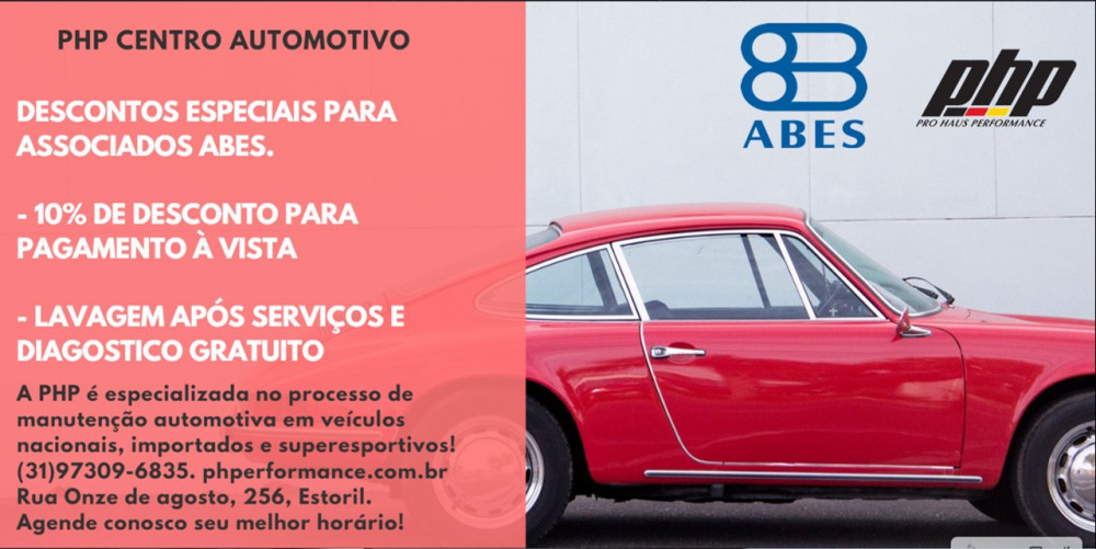 PARCERIA ABES-MG E PHP CENTRO AUTOMOTIVO