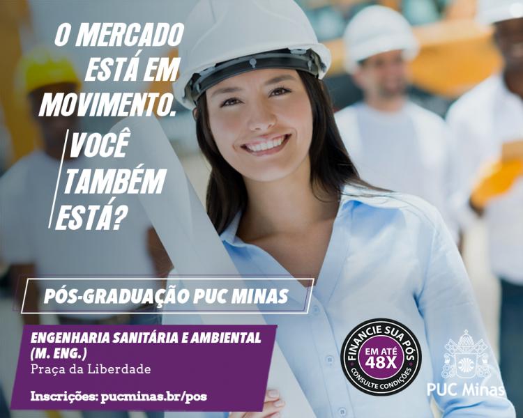 Pos graduação Engenharia Sanitária e Ambiental