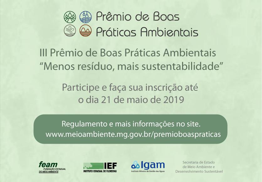 Premio Boas Práticas Ambientais 2019