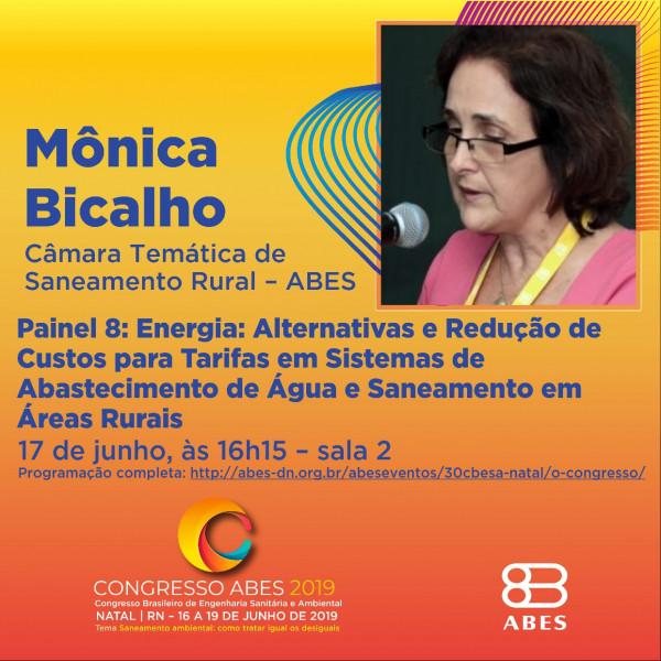 Mônica Bicalho Câmara de Saneamento Rural da ABES