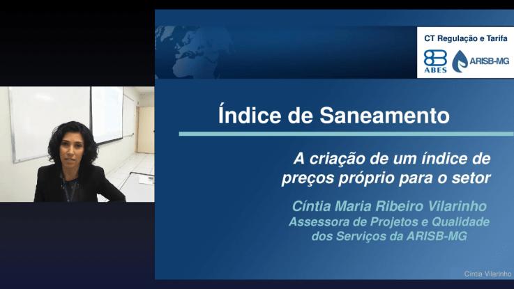 Cintia Vilarinho Assessora de projetos e qualidade dos serviços da ARISB-MG