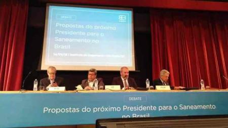 Propostas do saneamento para os candidatos a presidencia do Brasil