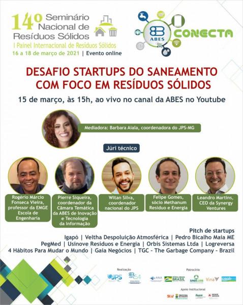 Desafio startups do saneamento com foco em resíduos sólidos