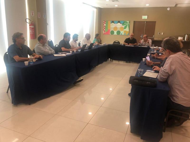Márcio Pedrosa ABES/MG reunião pré Congresso Saneamento Natal 2019