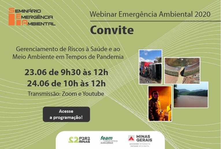SEMINARIO DE EMERGENCIA AMBIENTAL WEBINAR 2020