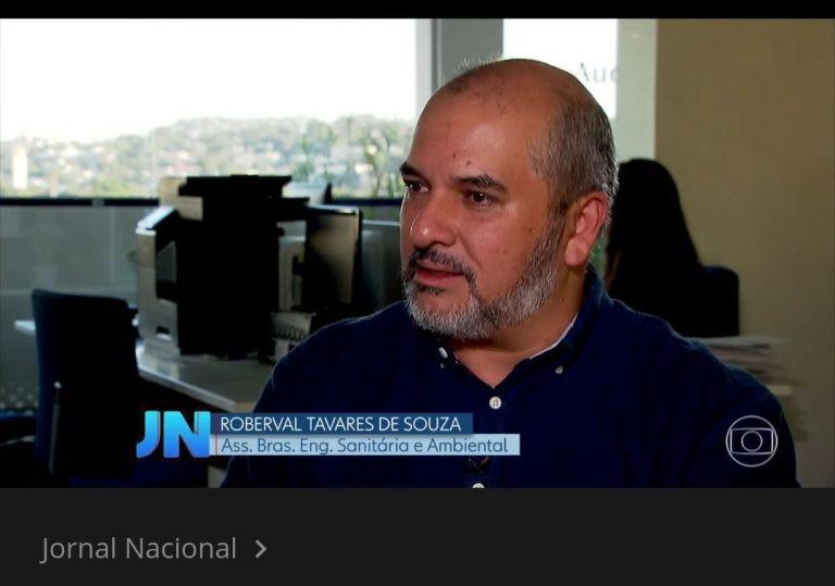 ABES Jornal Nacional Marco regulatório do saneamento