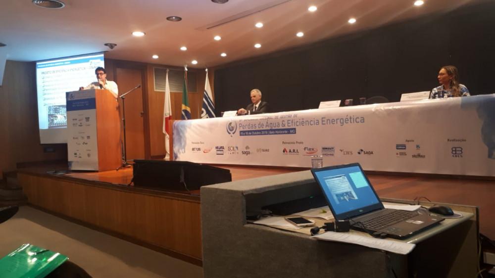 Rogério Siqueira 6º Seminário Nacional de Gestão de Perdas e Eficiência Energética da ABES