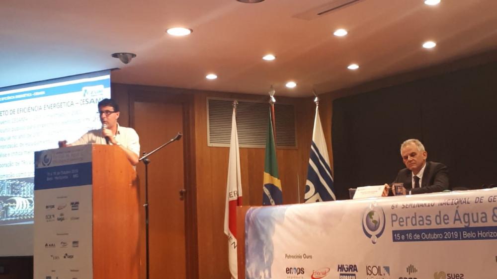 Sergio Queiroz - 6º Seminário Nacional de Gestão de Perdas de Água e Eficiência Energética da ABES
