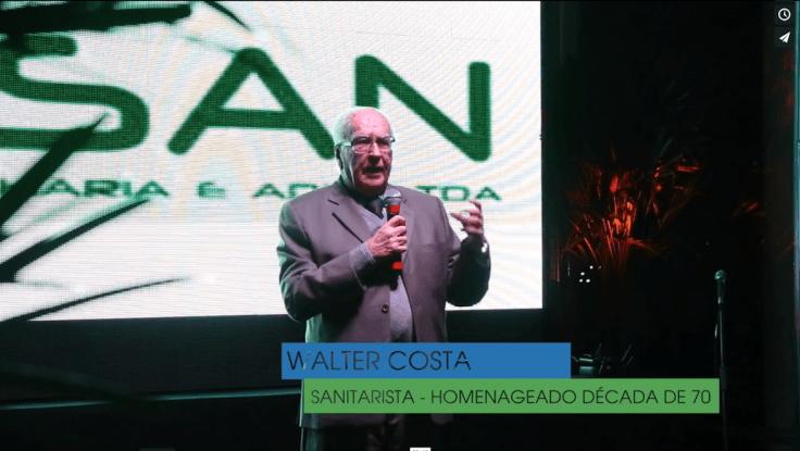 Walter Pinto Costa fundador da ABES