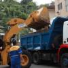 Santos/SP descarta 220 mil toneladas de entulho de forma correta