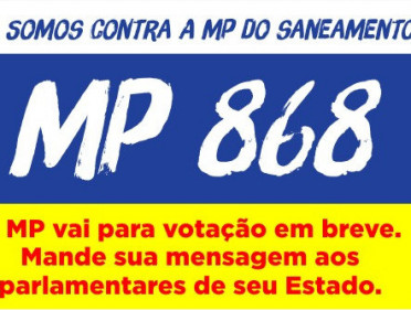 MP DO SANEAMENTO 868/2018
