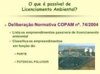 DN regulamenta licenciamento nos municípios