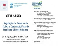 REGULAÇÃO DE SERVIÇOS DE COLETA E DESTINAÇÃO FINAL RSU