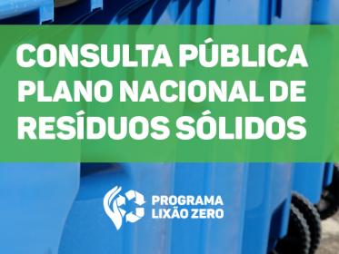 PLANO NACIONAL DE RESIÍDUOS SÓLIDOS