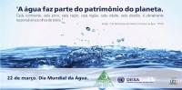 22 de março, dia mundial da água