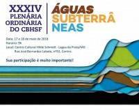 XXXIV Reunião Plenária do CBHSF acontecerá em Lagoa da Prata (MG)