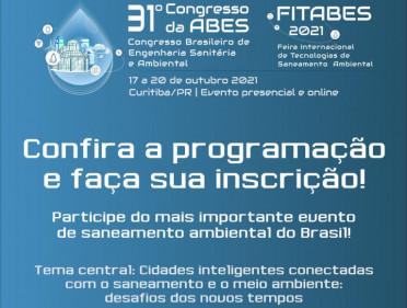 CONGRESSO DE ENGENHARIA SANITÁRIA DA ABES