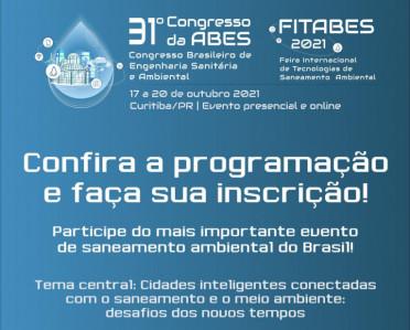 31º CONGRESSO DE ENGENHARIA SANITÁRIA DA ABES