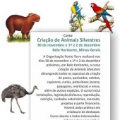 Ponto Terra oferece curso de criação de animais silvestres