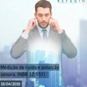 Medição de Ruído e poluição sonora NBR 10.151