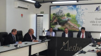 ABES e outras entidades debatem MP do Saneamento