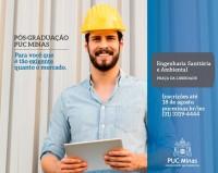 Pós graduação em Engenharia Sanitária e Ambiental