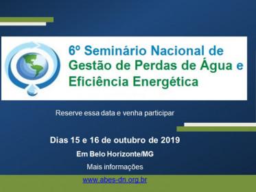 GESTÃO DE PERDAS E EFICIÊNCIA ENERGÉTICA