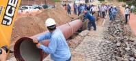 Saneamento é o setor que mais tem obras paralisadas