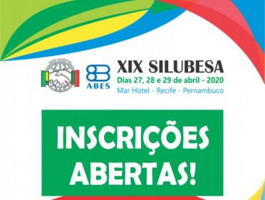 INSCRIÇÕES ABERTAS PARA O XIX SILUBESA