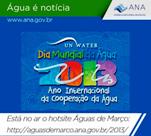 ANA lança hotsite Águas de Março 2013