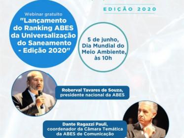 RANKING DA UNIVERSALIZAÇÃO DO SANEAMENTO