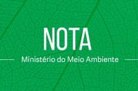 Ministério do Meio Ambiente emite nota sobre a fusão com a Agricultura