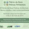 Participe do Prêmio Boas Práticas Ambientais 2019