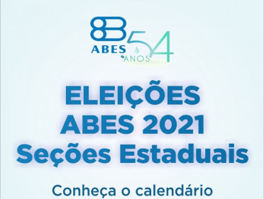 ABES LANÇA CALENDÁRIO DE ELEIÇÕES 2021/2023