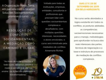 RESOLUÇÃO DE CONFLITOS AMBIENTAIS