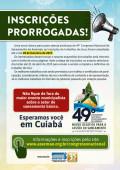 Inscrições Prorrogadas – 49º Congresso de Saneamento da Assemae