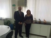 Presidente da ABES visita Copasa e Seção Minas