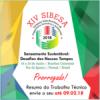 XIV Sibesa: confira a lista de resumos aprovados